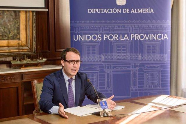 El portavoz del equipo de gobierno de la Diputación de Almería, Fernando Giménez (PP)