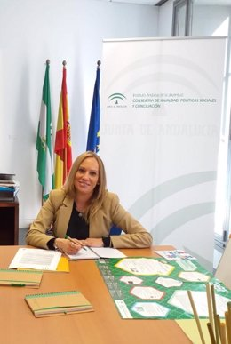 La asesora de programas del IAJ de Málaga,Celia Sánchez.
