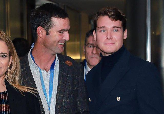 Aitor Gómez y José Bono Jr., en una foto de archivo de Europa Press