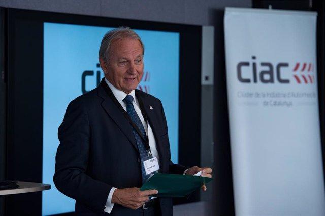 El presidente del Cluster de la Industria de la Automoción de Catalunya (Ciac), Josep Maria Vall