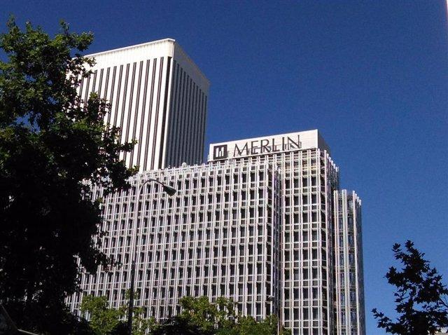 Oficinas de la cartera de Merlín en Madrid