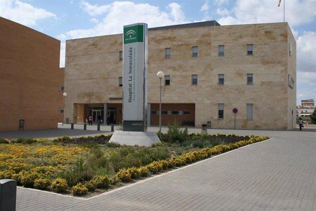 Hospital La Inmaculada en la localidad de Huércal-Overa (Almería)