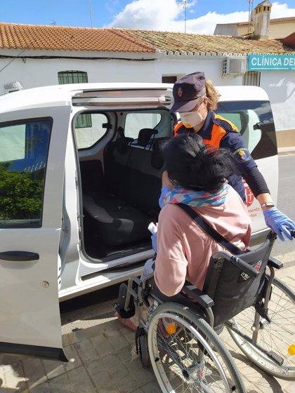Más de 2.000 voluntarios de Protección Civil ayudan en Andalucía a los servicios de emergencias contra el coronavirus