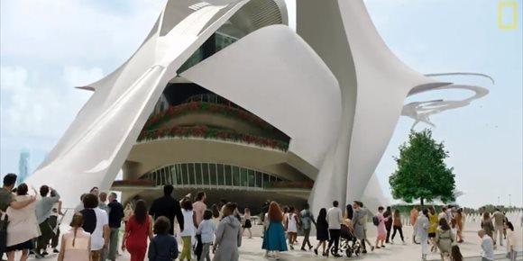 1. La Ciutat de les Arts i les Ciències de València, escenario de la nueva temporada de 'Cosmos. Otros mundos'