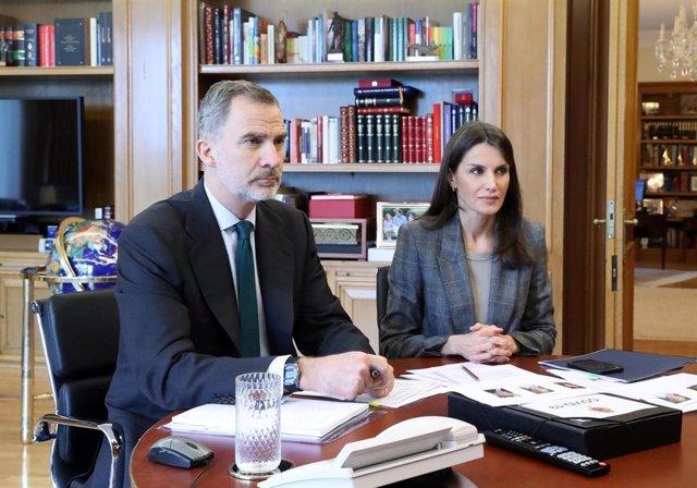 Economía.- Los Reyes contactan con DigitalES y Ametic y manifiestan la importanc