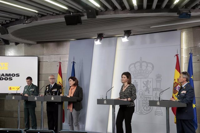La jefa de Área del Centro de Coordinación de Alertas y Emergencias Sanitarias del Ministerio de Sanidad, María José Sierra2020.