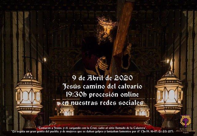 Tres cofradías de Logroño ofrecen sus actos online este Jueves Santo