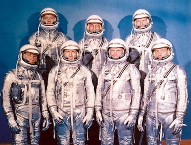Se cumplen 61 años de los siete primeros astronautas de la NASA