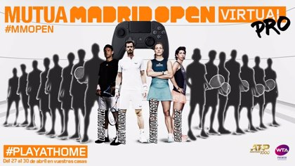 Murray, Kerber, Pouille y Carla Suárez, primeros participantes del 'Mutua Madrid Open Virtual Pro'