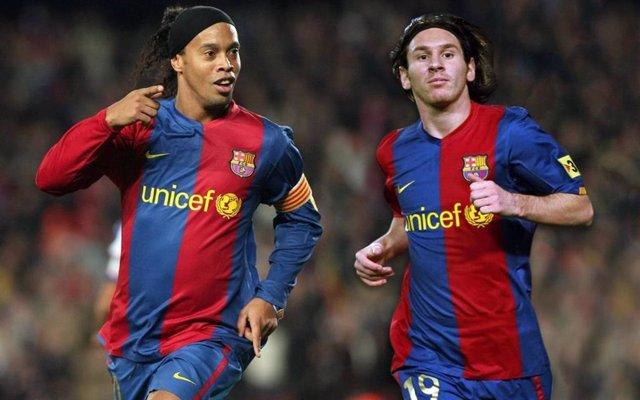 Fútbol.- Messi desmiente haber pagado la fianza de Ronaldinho