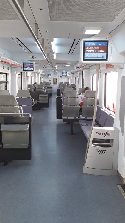 El transporte público en Catalunya incrementará la oferta desde el martes