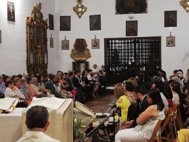Profesión de votos perpetuos por sor Sara del Amor de Dios en Santa Isabel la Real