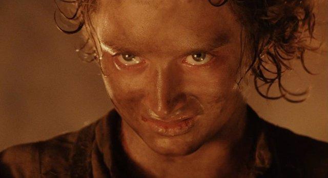 Frodo en el final de El señor de los anillos