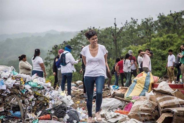 Estíbaliz Taboas, cooperante de Manos Unidas en Ecuador