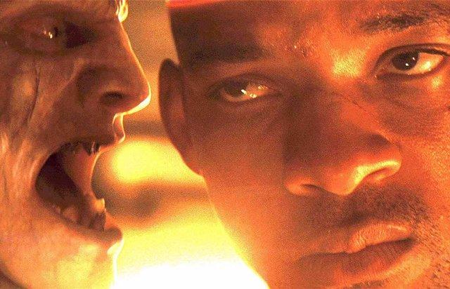 Will Smith en Soy leyenda