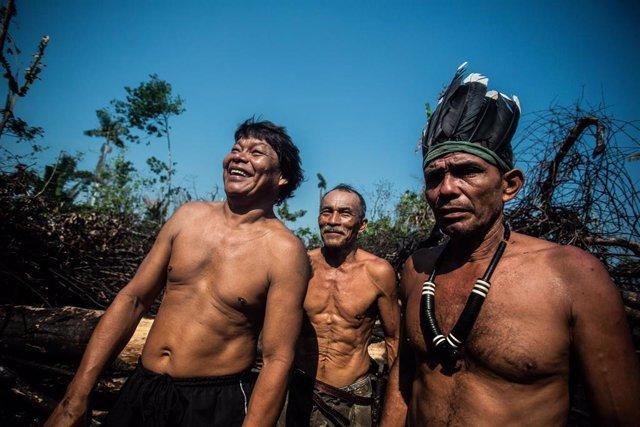 Indígenas brasileños (Imagen de archivo)