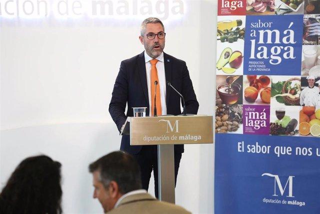 Juan Carlos Maldonado, vicepresidente primero de la Diputación de Málaga y responsable de la marca Sabor a Málaga.