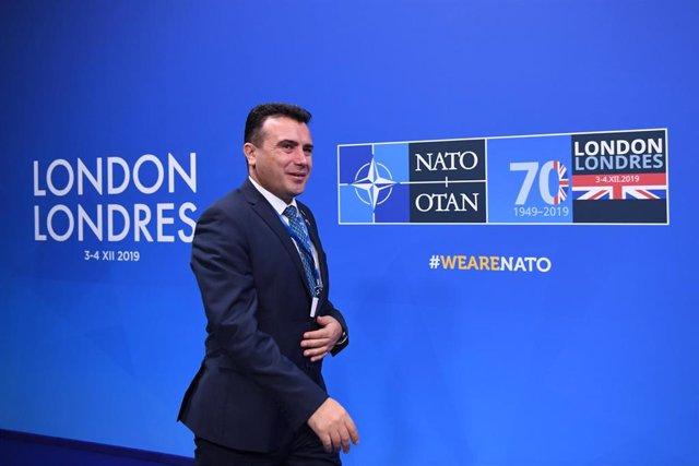 El ex primer ministro de Macedonia Norte Zoran Zaev
