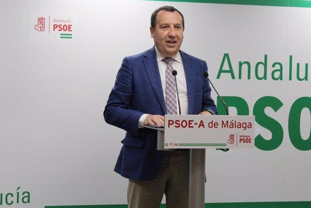 """Málaga.- Coronavirus.- PSOE pide a la Junta que publique datos por municipios """"para hacer más eficaz la lucha"""""""