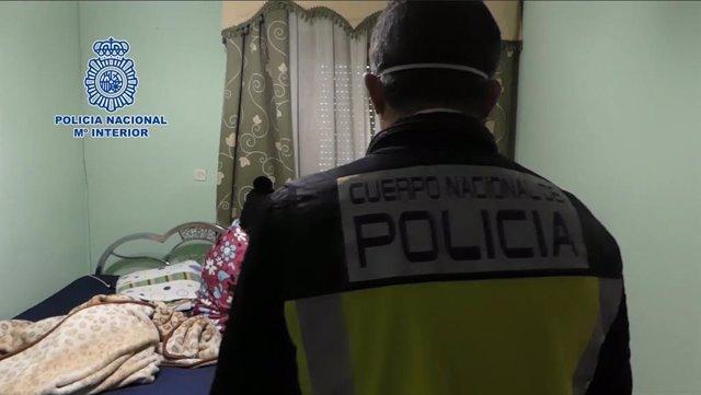 VÍDEO: La Policía Nacional desmantela una red de trata y libera a 12 víctimas, u