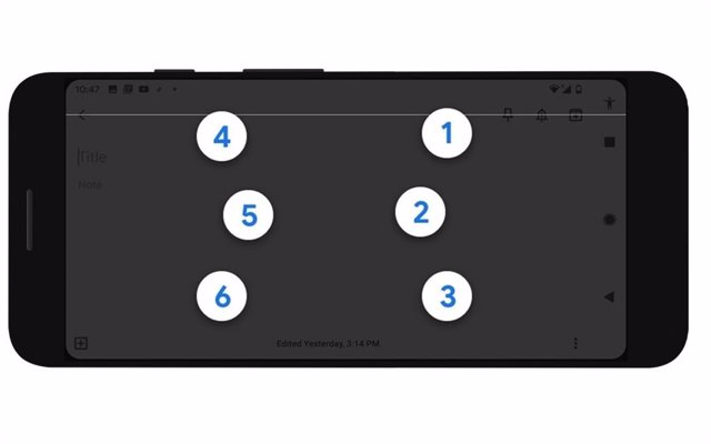 Android introduce TalkBack, su nuevo teclado braille para móviles