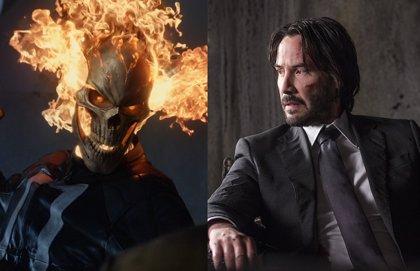Keanu Reeves es el nuevo Ghost Rider del Universo Marvel en éste brutal fan tráiler