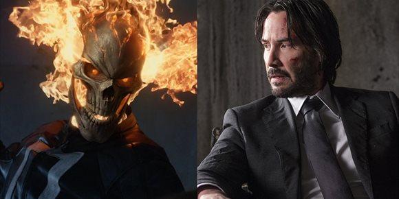 1. Keanu Reeves es el nuevo Ghost Rider del Universo Marvel en éste brutal fan tráiler