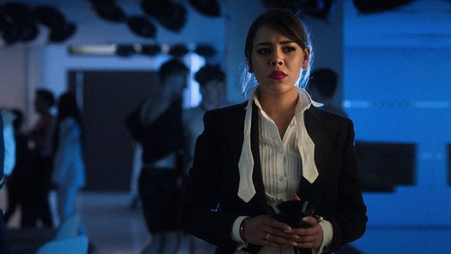 Danna Paola en la tercera temporada de Élite