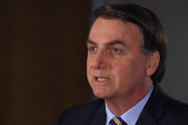 El presidente del Gobierno de Brasil, Jair Bolsonaro