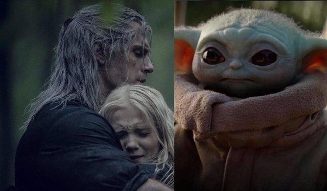 Ciri y Baby Yoda