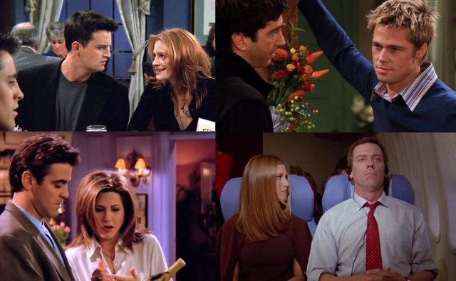 Cameos de estrellas célebres en Friends