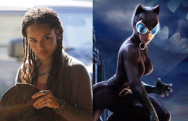 Así será Zoe Kravitz como Catwoman en The Batman