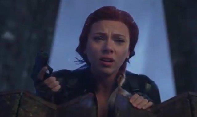 Viuda Negra (Scarlett Johansson) en una escena inédita de Vengadores: Engame