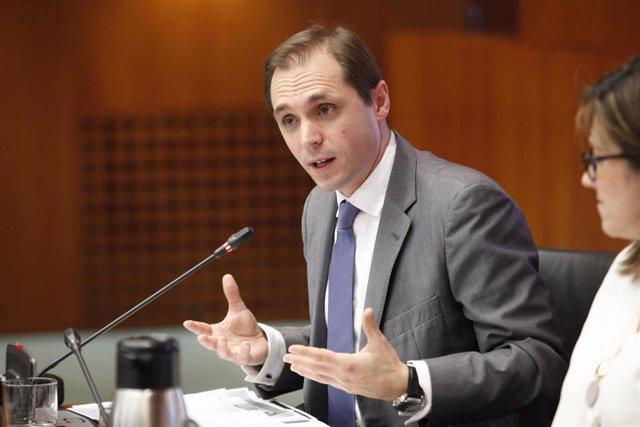 El portavoz de Cs en Educación, Carlos Trullén