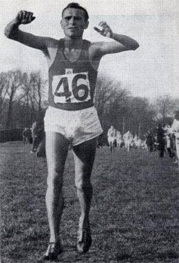 Francisco Aritmendi, campeón del cross de las Naciones y olímpico en Tokio 1964