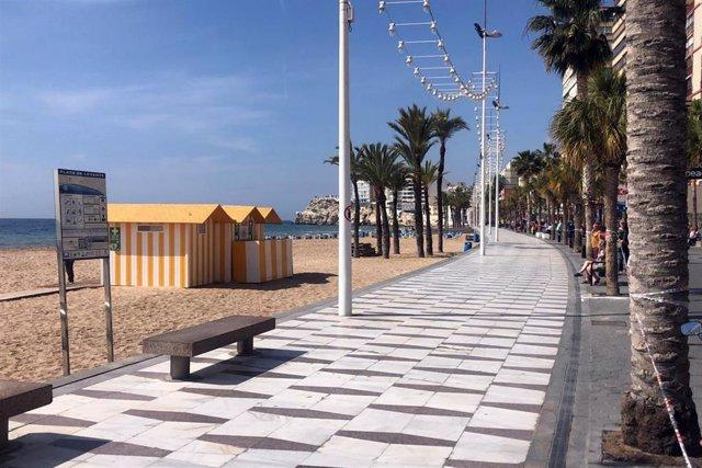 Una playa de la Comunitat Valenciana.