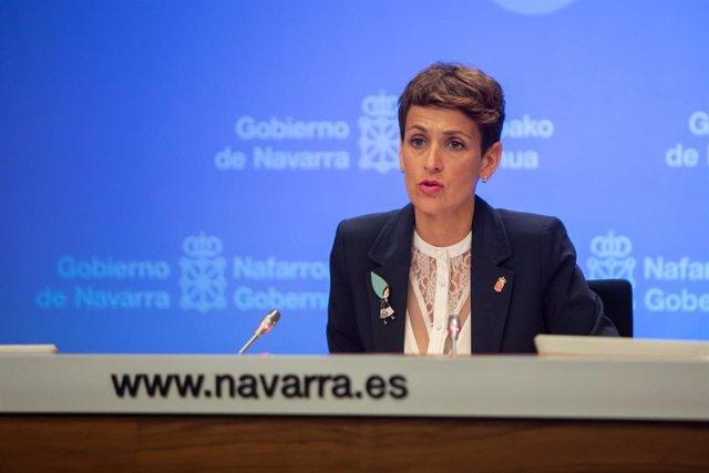 Coronavirus.- Navarra propone unir el curso escolar actual con el siguiente para