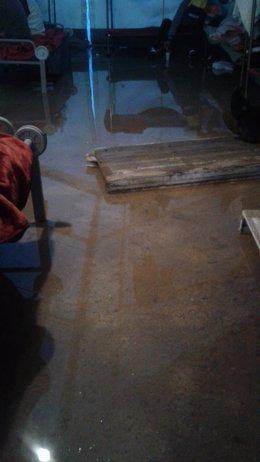 El Gobierno de Melilla solicita soluciones tras inundarse el campamento provisional de marroquíes.