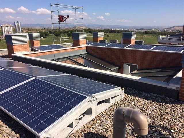 Una comunidad de vecinos de Logroño produce energía solar de la mano de Ecotelia y Solarwatt