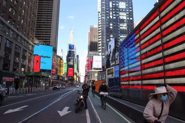 Nueva York bajo cuarentena por coronavirus
