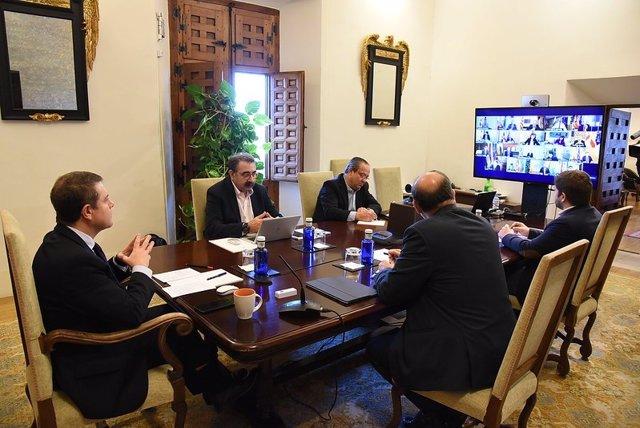 Page en la conferencia de presidente autonómicos