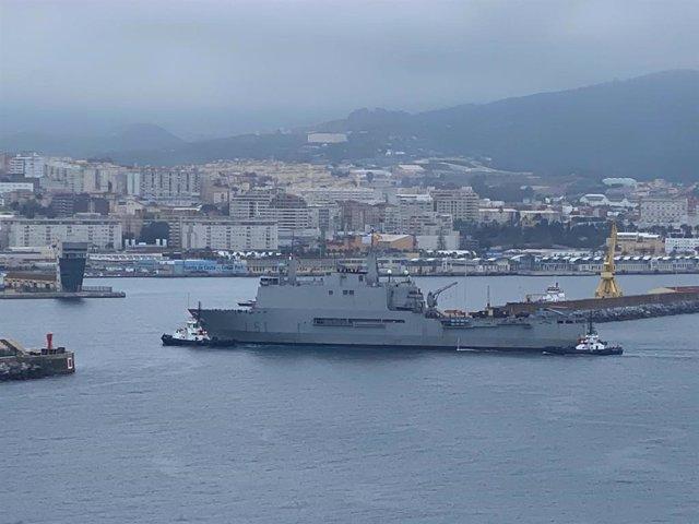El buque 'Galicia'