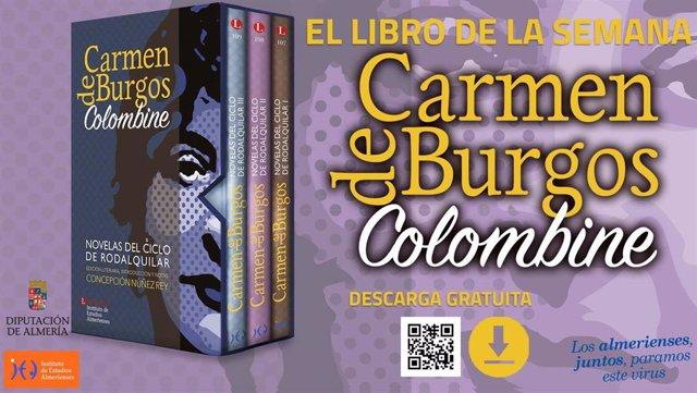 Diputación acerca a los almerienses la mayor colección de novelas de Carmen de Burgos.