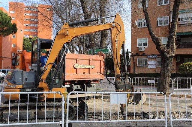Imagen de recurso de una obra en el municipio madrileño de Coslada.