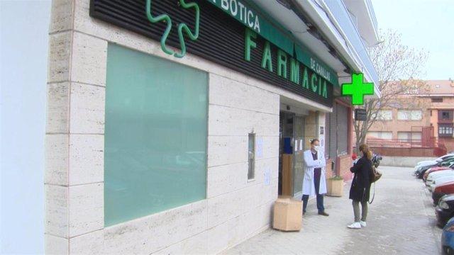 Farmacia del barrio madrileño de Canillas.