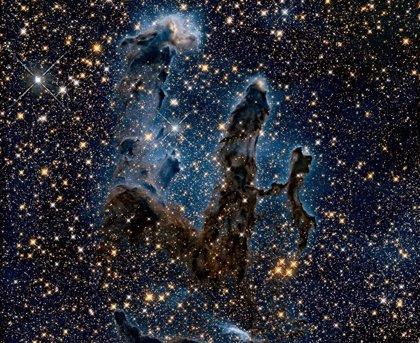 Los Pilares de la Creación, ahora en luz infrarroja