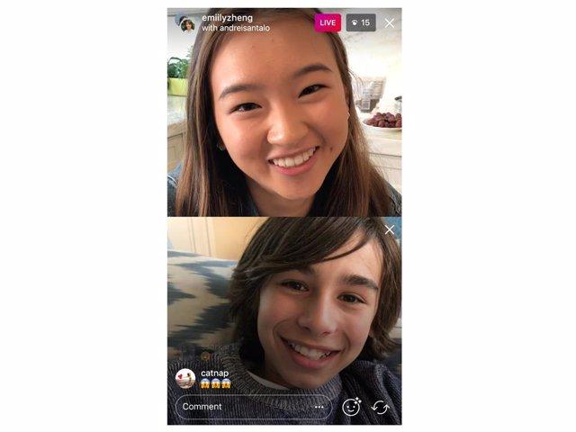 Las retransmisiones en directo de Instagram ya pueden seguirse desde la web
