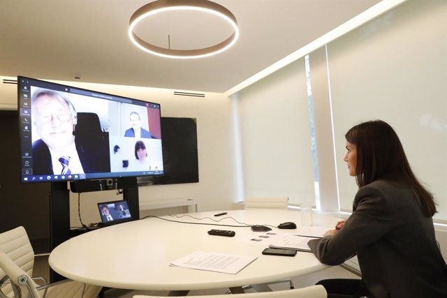 Coronavirus-Save the Children relata por videoconferencia a la Reina sus avances
