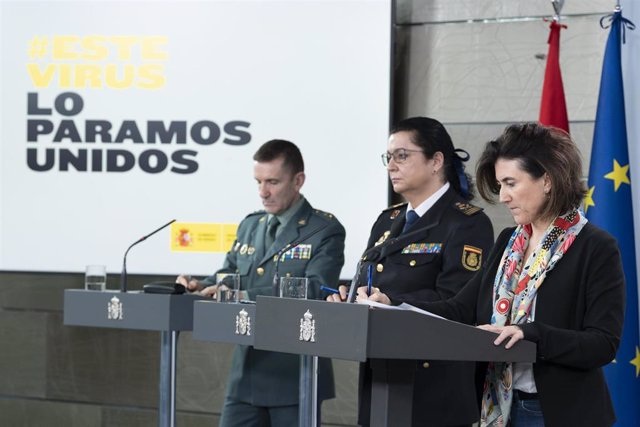 La directora adjunta del Centro de Coordinación de Alertas y Emergencias Sanitarias (CCAES), María José Sierra; durante la rueda de prensa posterior a la reunión del Comité Técnico de Gestión del Covid-19, en Madrid (España)
