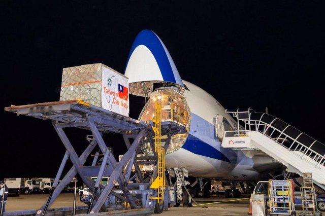 Coronavirus.- Llegan a España 500.000 mascarillas donadas por Taiwán, que pide q